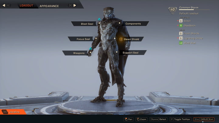 revision videojuego anthem bioware hands on preview 06