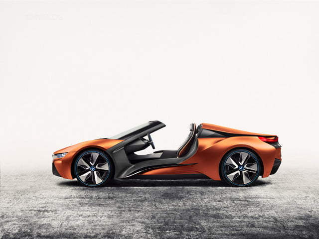 bmw inext i8 convertible 3