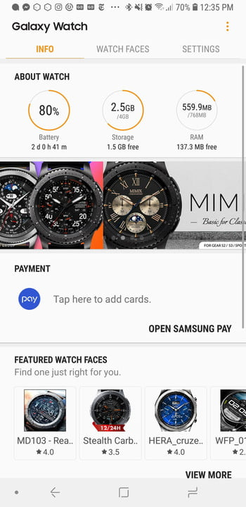 revision samsung galaxy watch app screen home 1200x9999