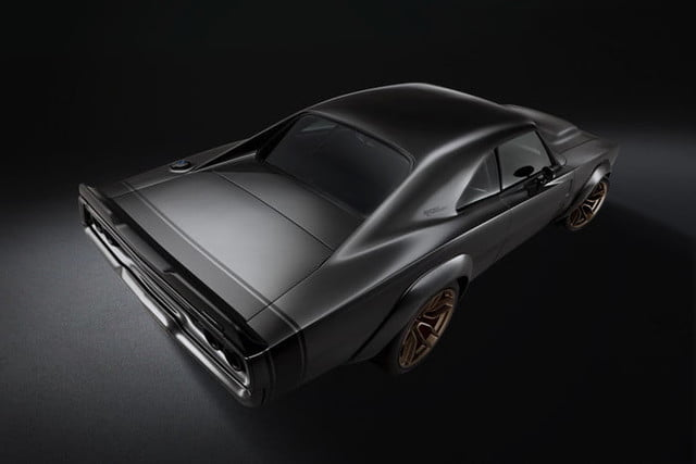 motor hellephant dodge charger mopar the 1968 super concept assumes a wide body stance thanks to front and rear fiberglass wh