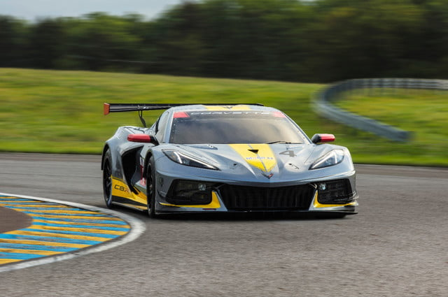 chevrolet corvette c8r imsa gtlm the c8 r is chevy  s first mid engine race car t