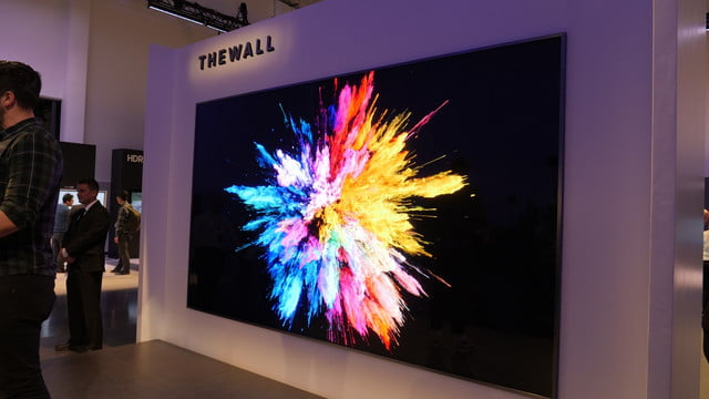 televisores modulares samsung 8k ces 2018 thewall 1