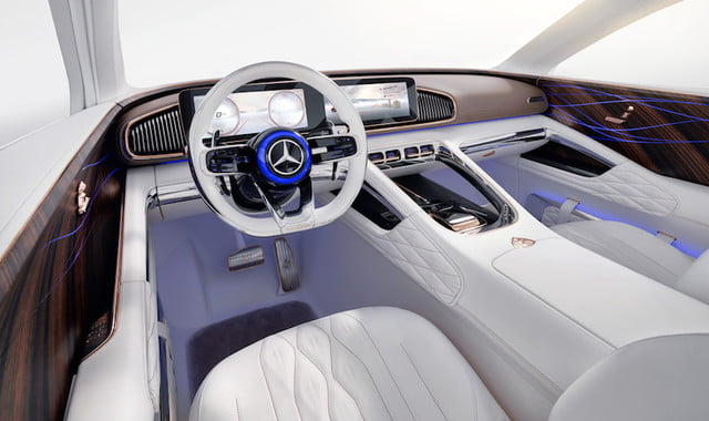 presentan vision mercedes maybach ultimate luxury int 3