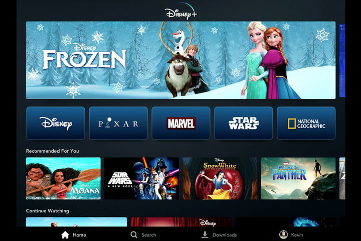 disney plus streaming service marvel starwars pixar first look tablet home window edit