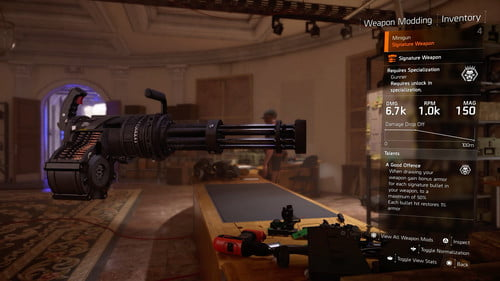 The Division 2: How to Unlock and Use the Gunner