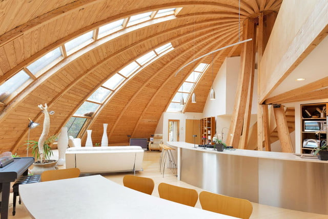 rotating domespace home is for sale dome