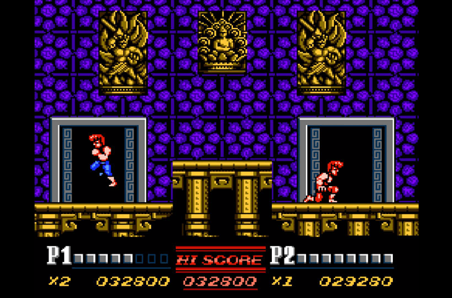 best nes games ever double dragon screens 2