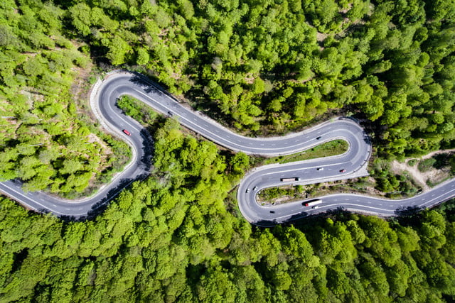 drones help french traffic cops drone car road