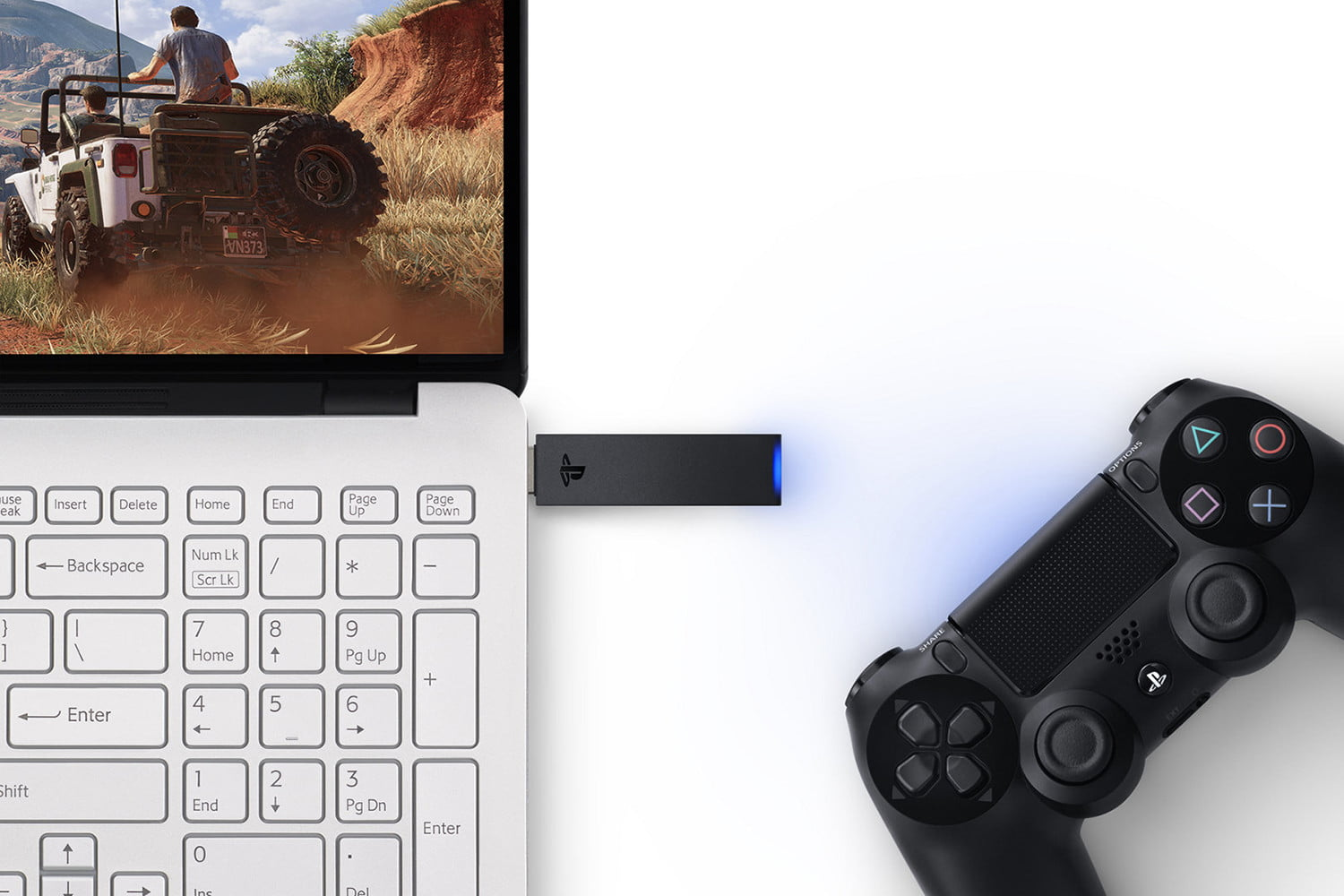 How to connect Dualshock