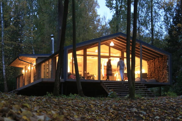 russian cabin built in just 10 days dubldom exterior 9
