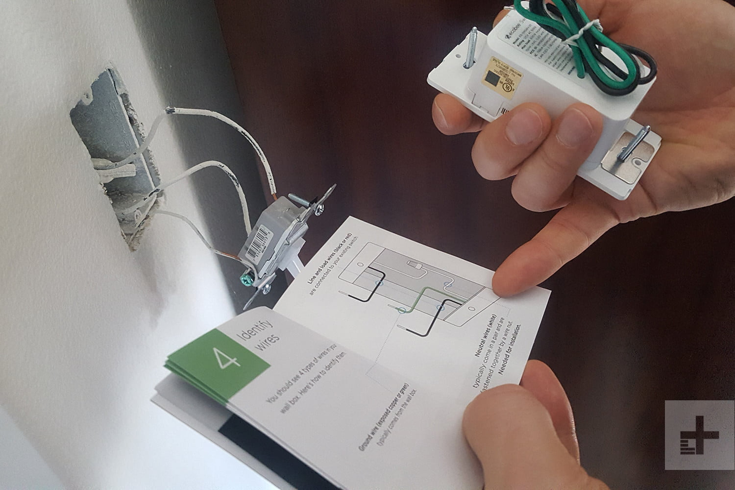Ecobee Switch Review More Than Just A Digital Trends Book Manual On Quick Basic House Wiring Switches Loads Switchplus 6