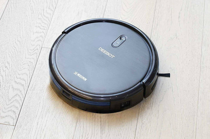 Clean with a robot vacuum and save $160 on the Ecovacs Deebot, today only