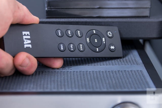 Elac Integrated Amplifier review remote