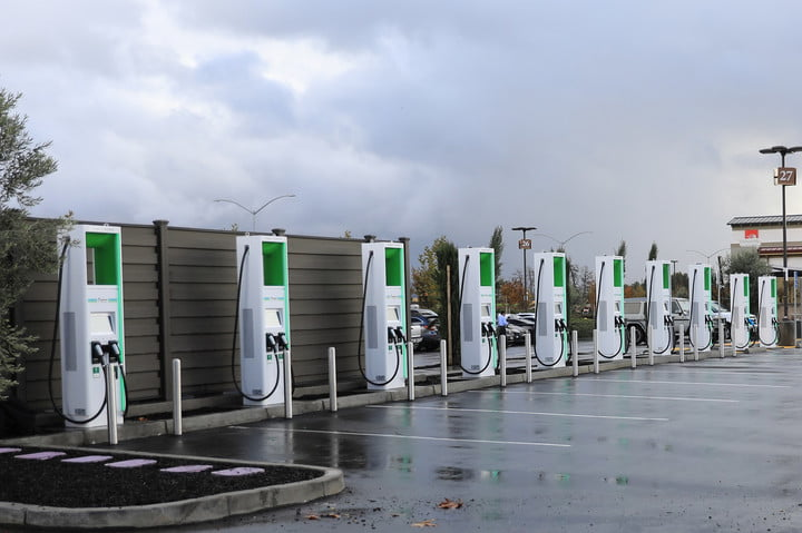 Electrify America charging stations