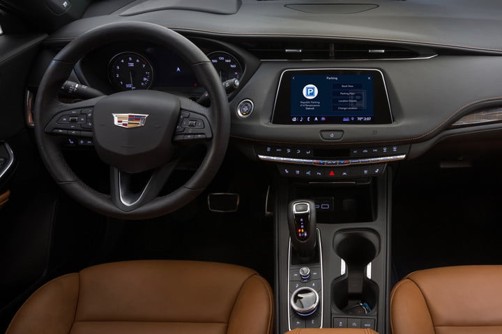 Cadillac drivers can now find and pay for parking from their dashboards