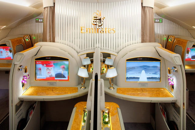 best first class airlines seats emirates a380