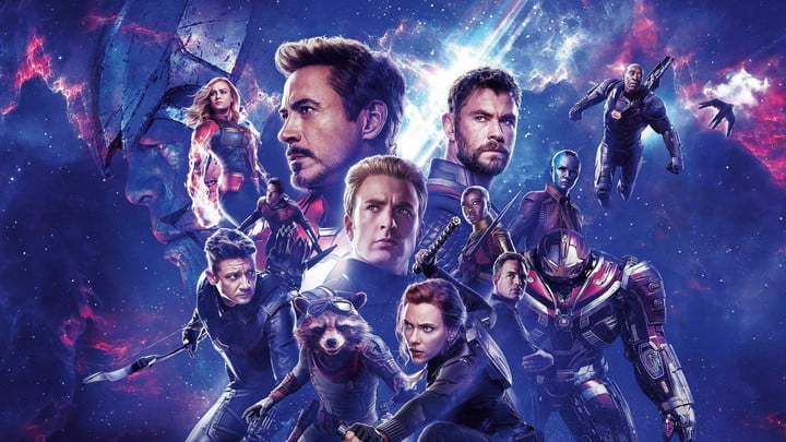 avengers endgame visual effects poster