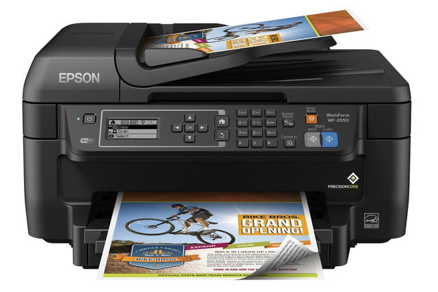 epson lowers price precisioncore inkjet tech new multifunction units workforce wf 2650