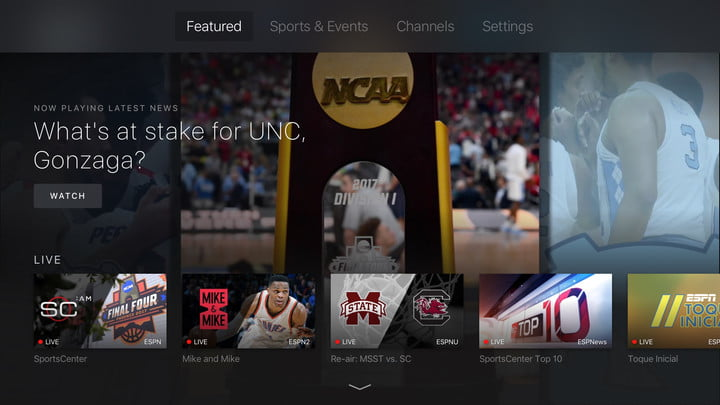 what is espn plus 6 0 for ios apple tv screenshot 001