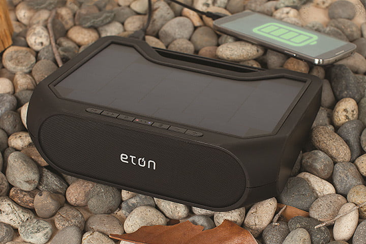 best outdoor speakers eton rugged xtreme on rocks