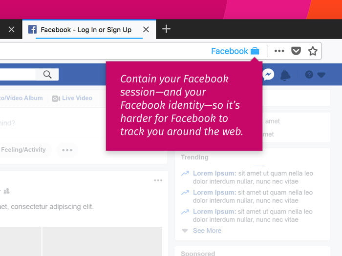mozilla releases facebook container add on for firefox