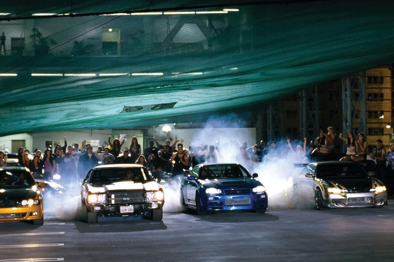 Fast And Furious Car Race Scene