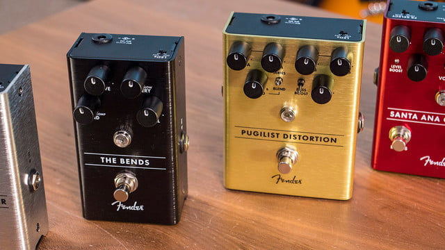 fender guitar pedals the bends