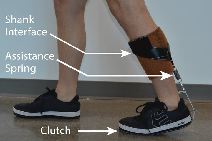 This sleek new exoskeleton makes walking easier, fits under your clothes