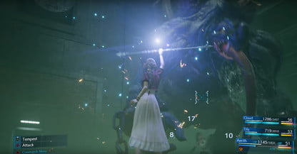 Final Fantasy 7 Remakes combat system explained during E3