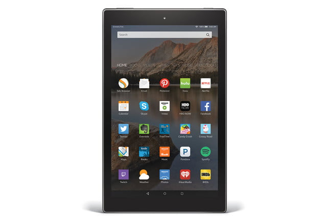 amazon fire hd 10 aluminum vertical front