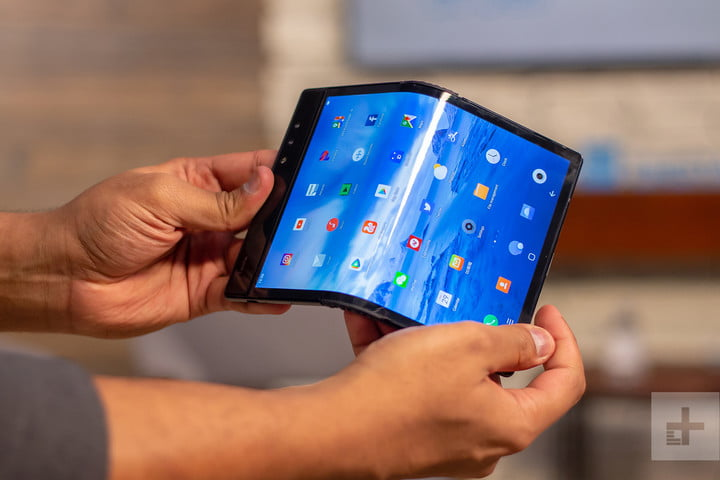 folding smartphones 2019 roundup foldable phones royal flexpai front