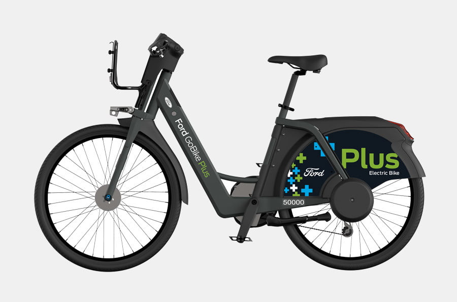 Ford gobike ebikes come to san francisco to conquer those for Electric motors of iowa city