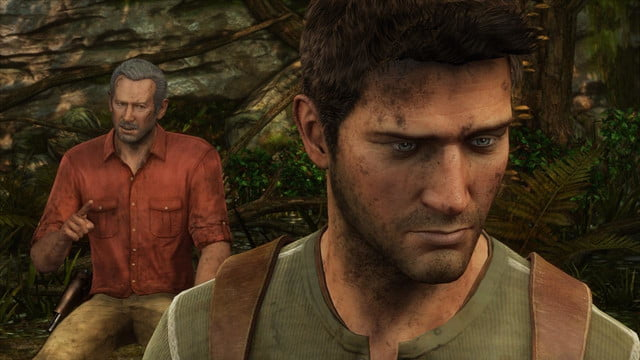 uncharted 3 drakes deception forest sully drake