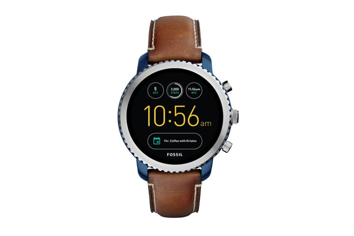 Sport the Fossil Q Explorist smartwatch for 32% less on Amazon