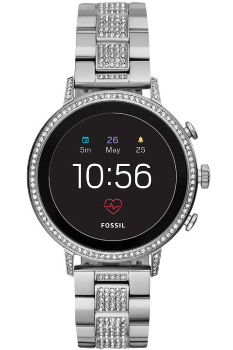 fossil q explorist hr venture news stainless steel