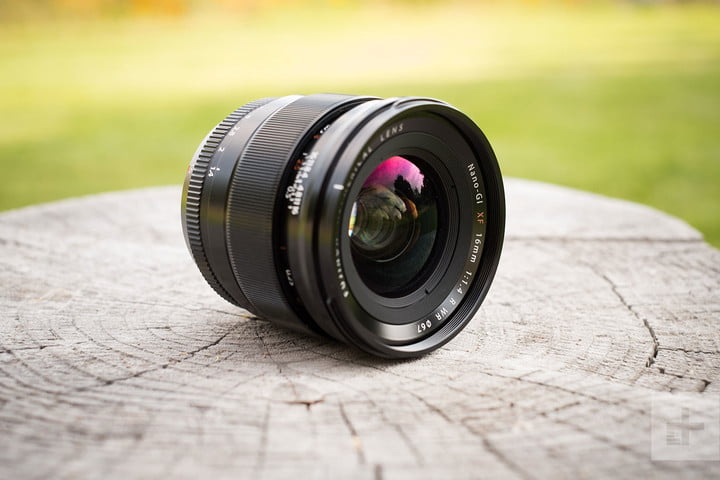 Fujifilm XF 16mm F14 R WR review lens front