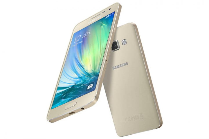 samsung galaxy alpha a5 and a3 news gold