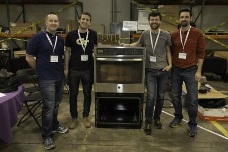 cool projects from the ge firstbuild hack home event coffee roaster