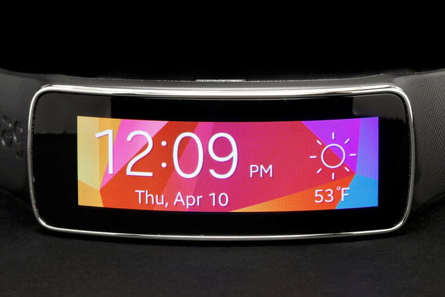 Gear Fit Watch face