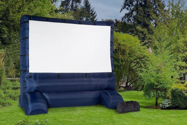 Gemmy Airblown 12' self-Inflating movie screen