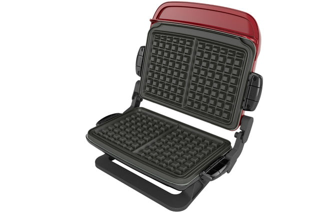 walmart deals on george foreman electric grills and griddles evolve 5 serving multi plate grill system indoor with ceramic pl
