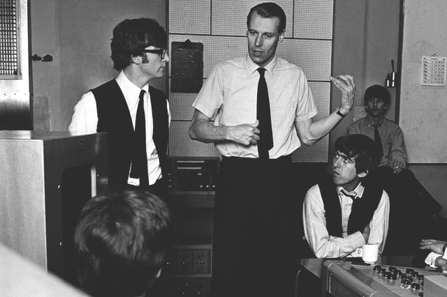 george martin producer fifth beatle dies beatles 2