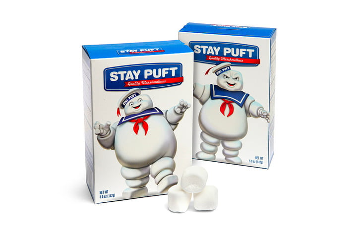 real products movies ghostbusters stay puft marshmellows