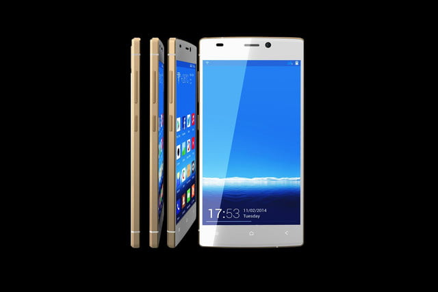 Gionee S55 front and sides