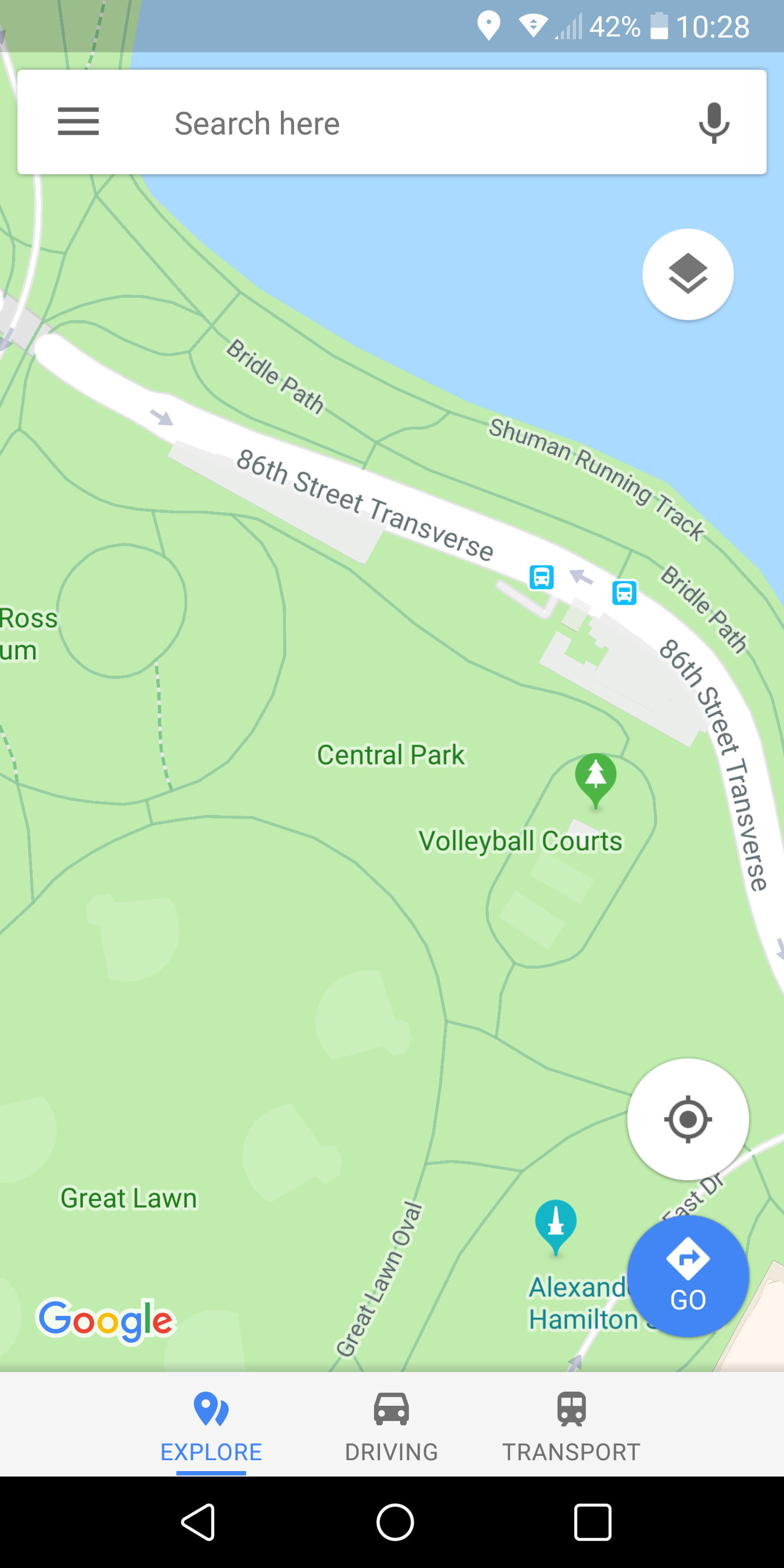 How to Use Google Maps | Page 2 | Digital Trends Central Park Google Map on