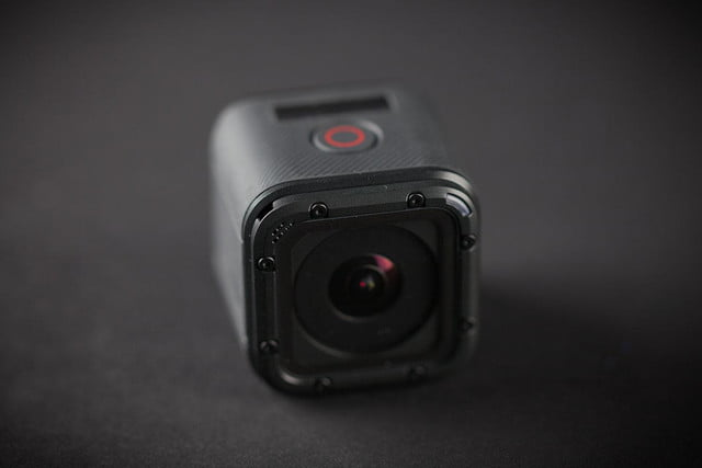 GoPro Hero 4 session hands on front