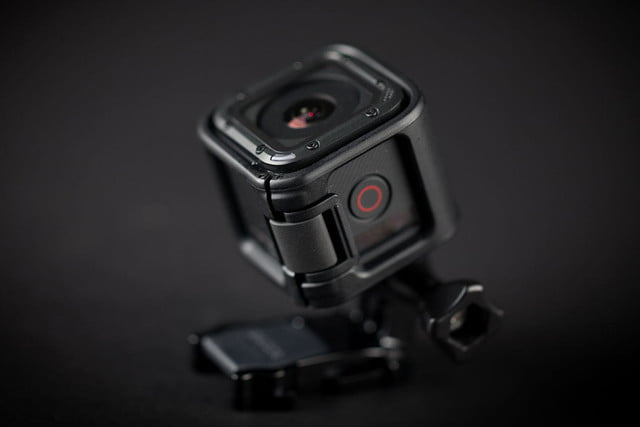 GoPro Hero 4 session hands on front camera