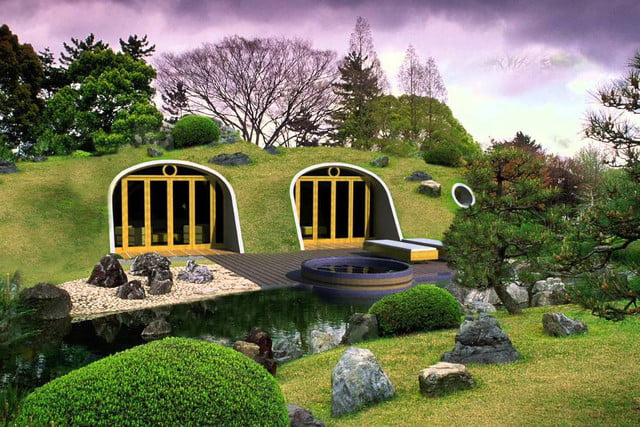 green magic homes are prefab houses covered in plants 0041