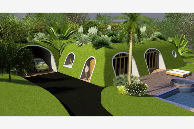 green magic homes are prefab houses covered in plants 0051