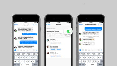 Big Group Chat? Messenger Adds Admin Tools, Links For Group Chats